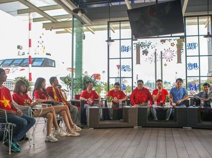 """Livestream thứ 3 """"Hành trình hát vì đội tuyển"""": """"Hòa ca"""" chờ đoạt cúp vô địch"""