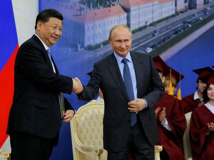 Nga - Trung hợp tác đa lĩnh vực