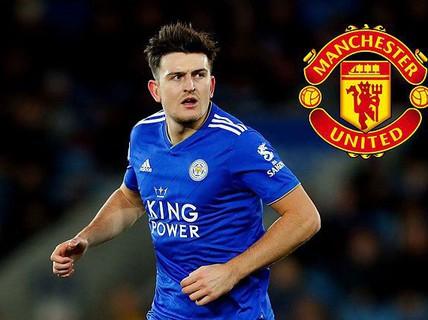 """Phá két 80 triệu bảng, """"Quỷ đỏ"""" sở hữu trung vệ Harry Maguire"""