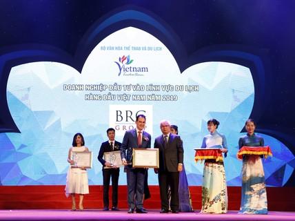 BRG được vinh danh nhiều giải tại Giải thưởng Du lịch Việt Nam 2019