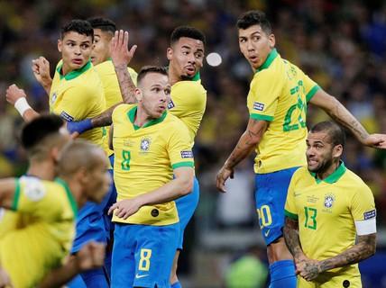 Quật ngã á quân Argentina, Brazil vào chung kết Copa America