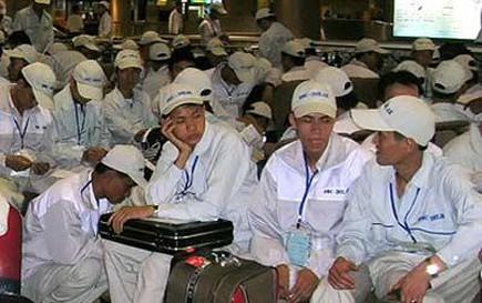 Đi lao động Hàn Quốc phải ký quỹ 100 triệu đồng