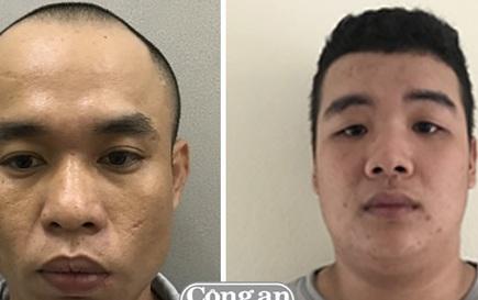 Đối tượng Nguyễn Văn Sơn và Mai Ngọc Hiếu đã bị bắt