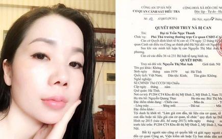 Công an kêu gọi Nguyễn Thị Mai Anh ra đầu thú để hưởng khoan hồng