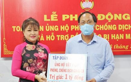 Ca sĩ Bích Thủy ủng hộ 1 tỉ đồng phòng chống dịch Covid -19