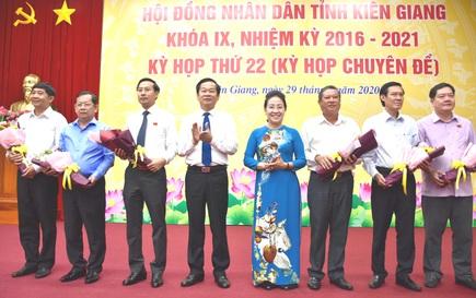 Bí thư Hà Tiên Nguyễn Thanh Nhàn làm Phó Chủ tịch tỉnh Kiên Giang