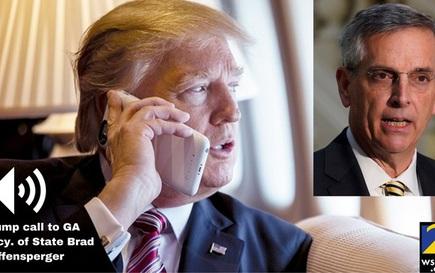 Georgia điều tra cuộc điện thoại nhạy cảm của ông Trump