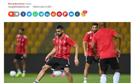 Truyền thông UAE nói gì trước trận đấu với tuyển Việt Nam?