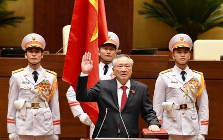 Ông Nguyễn Hoà Bình tái đắc cử Chánh án TAND Tối cao