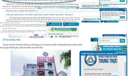 """Tư vấn """"đểu"""" ở phòng khám có người Trung Quốc (*): Thai lớn cỡ nào cũng... phá!"""