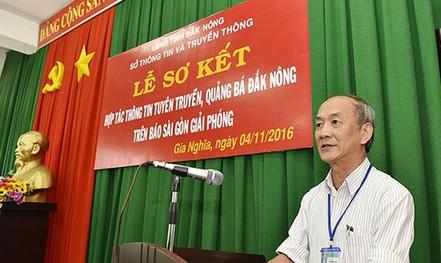 Nguyên chánh Văn phòng Tỉnh ủy Đắk Nông nói gì về việc bị khởi tố?