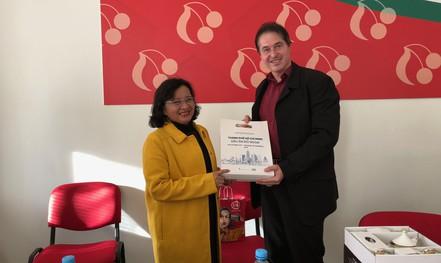 Đoàn Đại biểu Báo chí - Xuất bản TP HCM thăm, làm việc với Báo Haló