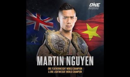 Bị chấn thương, Martin Nguyễn bỏ bớt đai vô địch hạng nhẹ