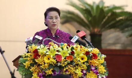 Chủ tịch Quốc hội: Đà Nẵng đừng vì sai phạm mà ảnh hưởng đến kinh tế