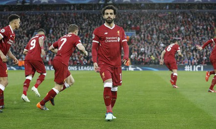 Salah khiến Ronaldo nóng mặt