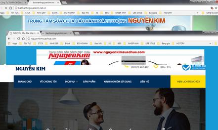 Hàng loạt website giả mạo siêu thị điện máy lừa khách hàng