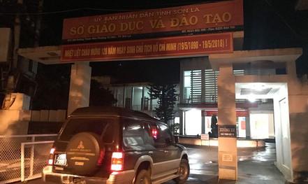 """Tổ công tác lại """"thâu đêm"""" thứ 2 kiểm tra điểm thi cao bất thường ở Sơn La"""