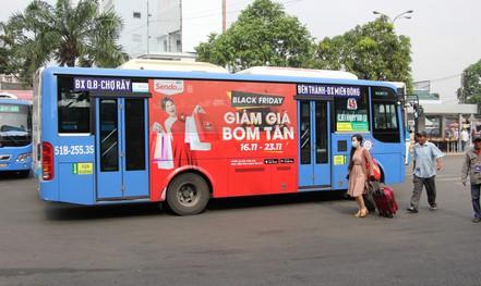 TP HCM đấu giá lần thứ 4 quảng cáo xe buýt