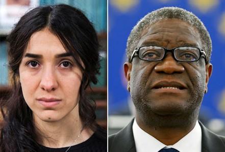 Hai thiên thần của Nobel Hòa bình 2018