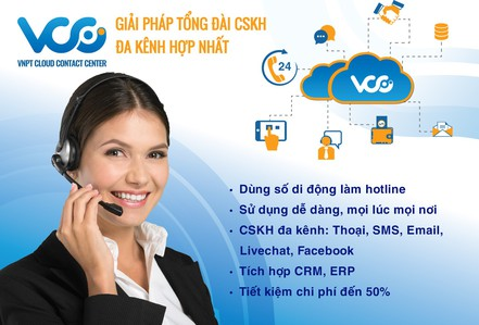 VCC - Giải pháp tối ưu kết nối giữa khách hàng và doanh nghiệp