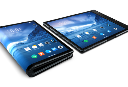 FlexPai: Tablet màn hình dẻo đầu tiên