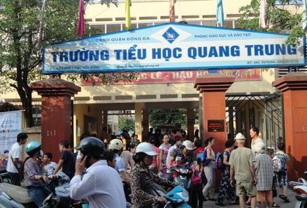 """Thêm vụ phụ huynh ở Hà Nội """"tố"""" giáo viên chỉ đạo tát học sinh 50 cái"""