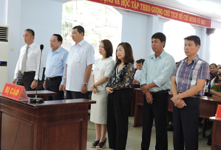 Đang xét xử nguyên chủ tịch TP Vũng Tàu