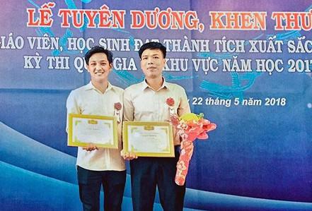 Học sinh giải Ba cấp quốc gia và Dự án Sản xuất Thực phẩm sạch cho người dân