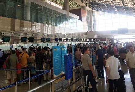 Vietnam Airlines đổi giờ bay tới Thượng Hải do ảnh hưởng của bão