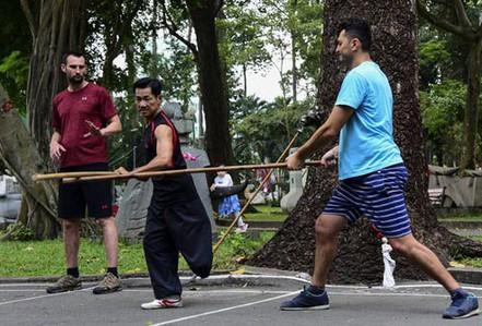 Khát vọng tỏa sáng tài năng: Nghị lực của võ sư một chân