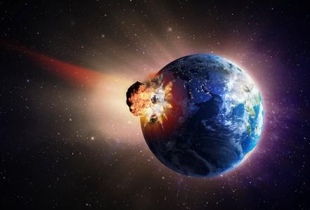 """""""Tiểu hành tinh khủng long"""" tạo siêu sóng thần cao 1,5 km"""