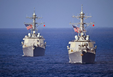 Việt Nam lên tiếng việc tàu khu trục Mỹ tuần tra sát Hoàng Sa