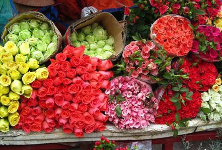 """""""Dọn đường"""" cho hoa tươi Đà Lạt về chợ đầu mối TP HCM"""