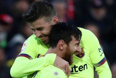Khi Messi lấn sân sang... quần vợt