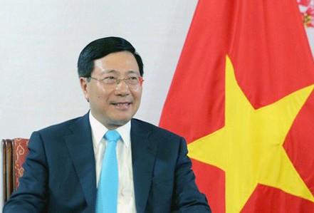 Phó Thủ tướng Phạm Bình Minh thăm Đức