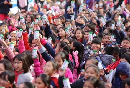 Chương trình Sữa học đường Hà Nội: Nhiều tín hiệu tích cực