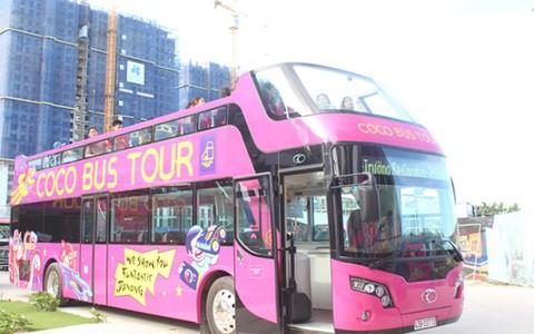 Khai trương xe buýt 2 tầng đầu tiên tại Đà Nẵng