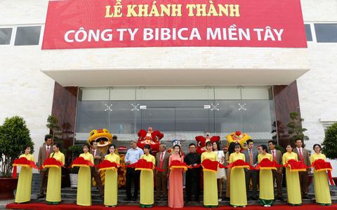 Khánh thành Công ty BIBICA miền Tây