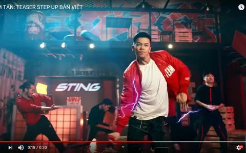 """Đu đưa cùng Trọng Hiếu trong """"Step Up Việt"""""""