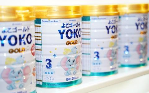 Vinamilk đem dưỡng chất từ Nhật vào sữa Yoko Gold