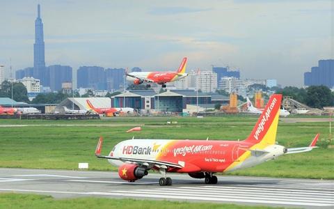 """Đồng loạt mở 2 đường bay quốc tế Đà Nẵng - Singapore và Hồng Kông, Vietjet khuyến mãi """"khủng"""""""
