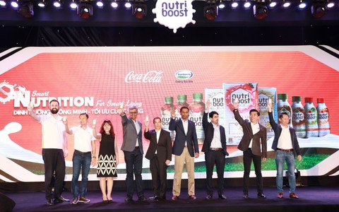 Coca-Cola ra mắt bộ sản phẩm sữa nước Nutriboost mới - dinh dưỡng thông minh