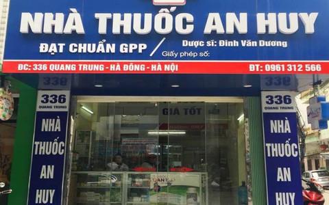 Nhà thuốc An Huy - địa chỉ mua thuốc uy tín ở Hà Nội