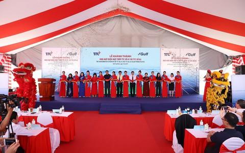 Tập đoàn TTC và GULF (Thái Lan) khánh thành Nhà máy Điện mặt trời TTC số 01 và TTC số 02 tại Tây Ninh