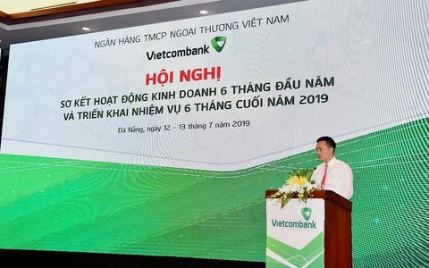 Vietcombank thu về 11.280 tỉ đồng lợi nhuận, đạt 55% kế hoạch năm 2019
