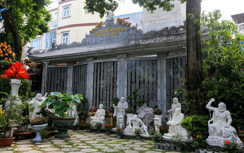 Điều ít người biết về ngôi chùa trong con hẻm trên đường Thích Quảng Đức