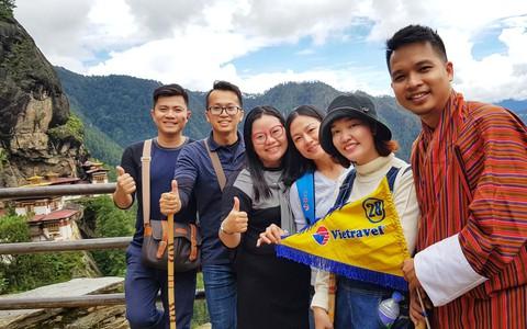 Vietravel độc quyền cung ứng vé bay Druk Air - Royal Bhutan Airlines tại Việt Nam