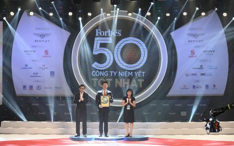 SABECO được vinh danh Top 50 công ty niêm yết tốt nhất Việt Nam năm 2019