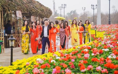 Những trải nghiệm rực rỡ tại Lễ hội hoa xuân 2020