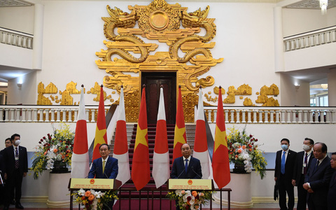 Việt Nam - Nhật Bản: Cam kết nắm chặt tay